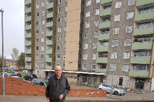 Councillor Nigel Long at Mellish Court in MK