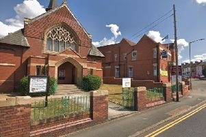 Queensway Methodist hall in Bletchley was the scene of the unholy council row
