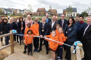 Whitehouse Park grand opening in Crownhill MK