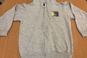 The grey hoodie Leah was wearing when she vanished in February is central to the major search in MK