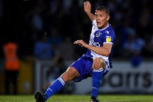 Tom Davies scored the only goal of the game as Bristol Rovers beat MK Dons