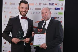 Irmak BBQ won Community Business of the Year at the Luton and Dunstable Community Awards