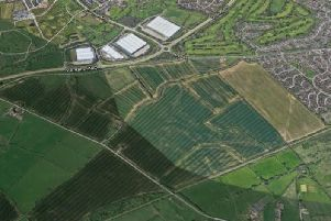 The site of the Salden Chase proposed housing