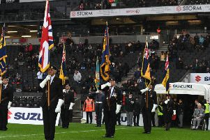 Remembrance at Stadium MK