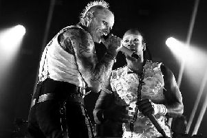 Keith Flint's giant ant from The Prodigy's Milton Keynes show has sold for 8,000
