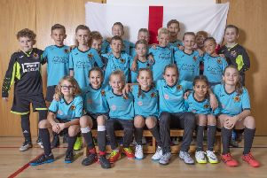 The City of Peterborough Futsal players heading to Barcelona. Photo: MATTY GRAHAM/PIXEL-CLICK.COM