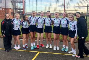 St George's Academy U16s netball team will represent Lincolnshire in Repton EMN-191118-161637002