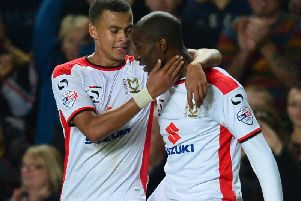 Dele Alli and Benik Afobe