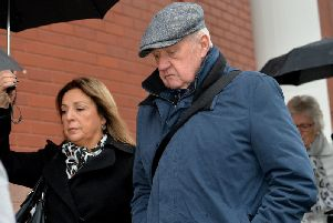 Hillsborough match commander David Duckenfield arriving at Preston Crown Court on Thursday. (Photo: Peter Powell/PA Wire)