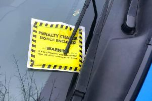 Two parking tickets were issued