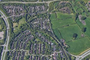 The incident happened on the path between H8 Standing Way and H9 Groveway in Brinklow, MK