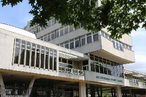 Leicestershire County Council headquarters at Glenfield EMN-191231-094659001