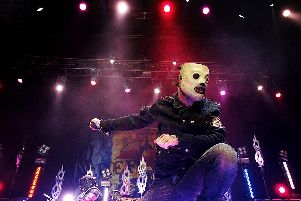 Slipnot will be bringing their morbid sensibilities to Milton Keynes this August. Picture: Lisa Maree Williams (Getty Images)