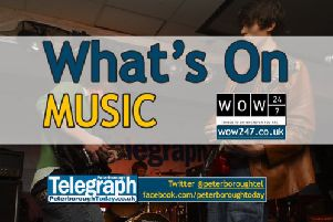 What's On: live music events in and around Peterborough - www.peterboroughtoday.co.uk/what-s-on - @peterboroughtel on Twitter