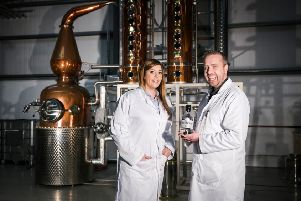 Husband and wife duo David and Fiona Boyd-Armstrong realised the need for craft gin in Northern Ireland back in 2014