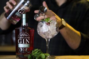 Rhuberry and Mint Copeland Gin