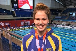 Mia Leech won two gold medals.