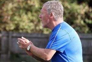 Wellingborough Town manager Gary Petts saw his team claim a 2-0 home win over Boston Town