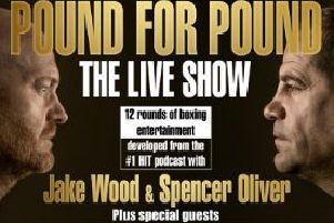 Pound for Pound : The Live Show 2019 starring Jake Wood and Spencer Oliver PHOTO: Supplied