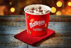 McDonald's new Christmas McFlurry is on sale now.