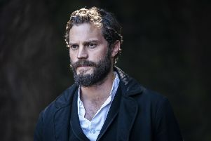 Jamie Dornan, pictured in the role of Liam Ward in upcoming BBC2 drama Death And Nightingales, says he's given 'zero thought' to being the next James Bond. Photo by Teddy Cavendish