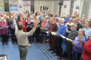 Chipping Norton Choral Society rehearses Elgar and Williams for their upcoming Banbury performance NNL-181129-144742001