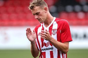 Former Northern Ireland midfielder, Dean Shiels has been released from Derry City amid interest from Coleraine.