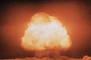 The Manhattan Project - The mushroom cloud in July 1945 was the first detonation of a nuclear weapon