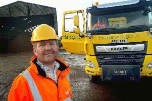 Tom Vesty, county council highways and works manager responsible for winter operations, at the Melton depot on Dalby Road EMN-191101-163006001