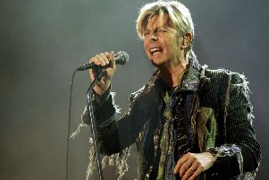 David Bowie has been named a greater entertainer than Charlie Chaplin in a vote conducted by BBC Two. Pic by Yui Mok/PA Wire