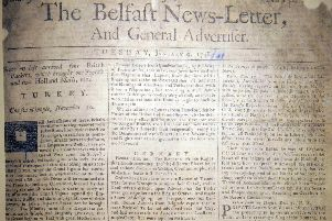 The fifth surviving News Letter, dated January 9 1738 (which is in fact equivalent to January 20 1739 in the modern calendar)