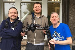 Joel, Rhys and Colm, service users at Anchor House.