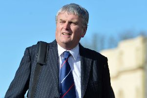 Jim Wells, former Stormont health minister. Pic by Colm Lenaghan/Pacemaker Press