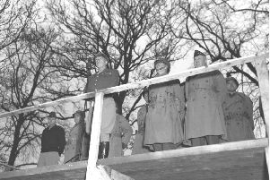 General Patton's Podium, Northern Ireland, 1944