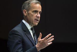 Mark Carney gave his toughest warning yet over his economic concerns