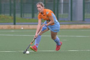 Ards Player-coach Naomi Grundie.