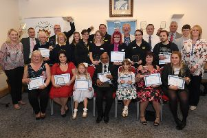 Sleaford Town Awards presentation evening at Sleaford Town Hall. 2018 EMN-190802-144154001