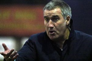 Banbury United manager Mike Ford saw his side's poor run on the road continue