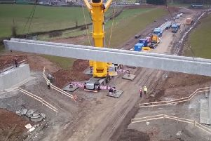 Construction of bridge on Magherafelt bypass