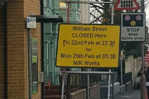 Railway crossing at Lurgan's William St to close all weekend