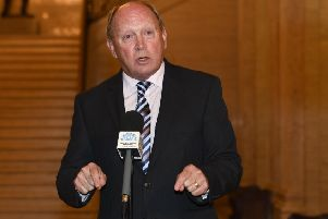 TUV leader Jim Allister MLA QC at Stormont. 'Photo Colm Lenaghan/Pacemaker Press