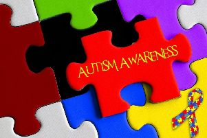 2,345 children under 18 were diagnosed as autistic last year