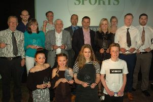 Our Melton Times Sports Awards winners for 2017 at last year's ceremony