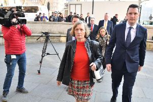 Geraldine Finucane, the widow of murdered Belfast solicitor Pat Finucane, arrives at the Supreme Court in central London, prior to the UK's highest court, ruling on a application brought by the family, which challenges the Government's decision not to establish a public inquiry into the paramilitary murder of the solicitor in 1989, but instead to appoint Sir Desmond de Silva to conduct an independent review into the circumstances of the murder. (Photo: Dominic Lipinski/PA Wire)