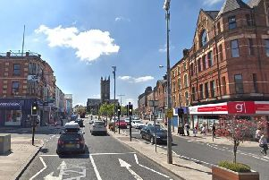 Portadown town centre. Pic by Google