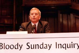 Lord Saville chaired the Bloody Sunday inquiry, looking into the events of the 30th January 1972, in the Bogside, Londonderry
