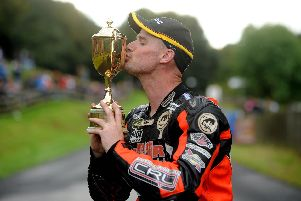 Ryan Farquhar became the first rider from Northern Ireland to win the Scarborough Gold Cup in 2011.