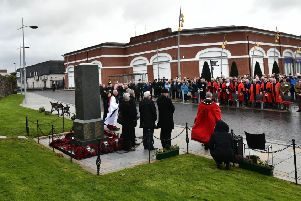 Massereene murders commemoration: 'Thank you for keeping the boys so close to your hearts'