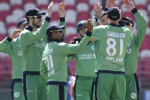 Ireland earned a share of the series spoils against Afghanistan.