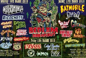 Prepare for three days of psychobilly sounds